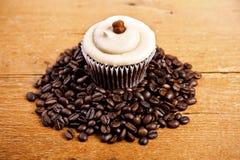 Chocolate cupcake Stock Photo