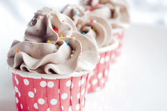 Chocolate cupcake Royalty Free Stock Photos