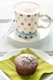 Chocolate Cupcake Stock Photos