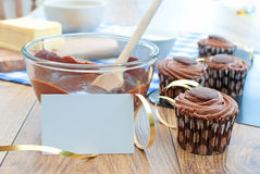 Party cakes Stock Images