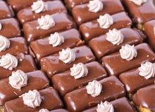 Chocolate cupcakes detail Royalty Free Stock Photo