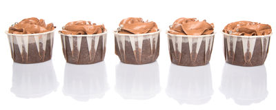 Chocolate Cupcakes III Royalty Free Stock Photography