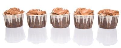 Chocolate Cupcakes III Royalty Free Stock Photography
