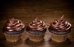 Chocolate Cupcakes Stock Photo