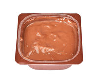 Chocolate Custard Royalty Free Stock Photo