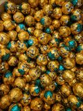 Chocolate da abóbora fotografia de stock royalty free