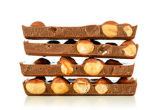 Chocolate da avelã fotos de stock