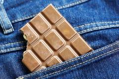 Chocolate da avelã Fotografia de Stock Royalty Free