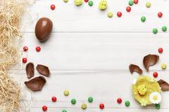 Chocolate da Páscoa fotos de stock royalty free