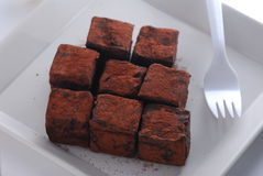 Chocolate da trufa Imagens de Stock