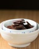 Chocolate de fusión Foto de archivo
