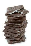 Chocolate de la menta Imágenes de archivo libres de regalías