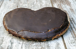 Chocolate de la palma Fotos de archivo libres de regalías