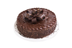 Chocolate de la torta Imagen de archivo libre de regalías