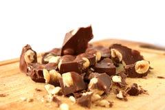 Chocolate de leite Imagem de Stock