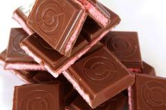 Chocolate de leite Imagem de Stock Royalty Free