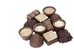 Chocolate de lujo Foto de archivo libre de regalías