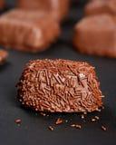 Chocolate de lujo gastrónomo Fotos de archivo