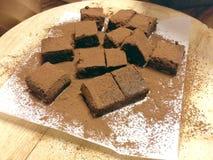 Chocolate de Nama hecho en casa Imagen de archivo libre de regalías