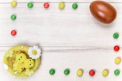 Chocolate de Pascua Foto de archivo