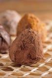 Chocolate de Truffe Foto de archivo