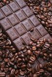 Chocolate del café Foto de archivo