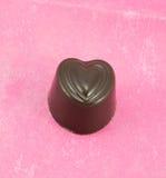 Chocolate del corazón Fotografía de archivo libre de regalías