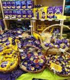 Chocolate del huevo de Cadbury Foto de archivo libre de regalías