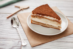 Chocolate del sweety de la torta Imágenes de archivo libres de regalías