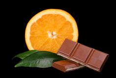 Chocolate delicioso fotos de archivo