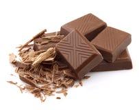 Chocolate delicioso foto de archivo libre de regalías
