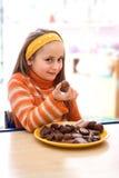 Chocolate delicioso Foto de archivo