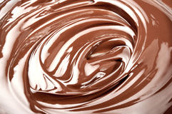 Chocolate derretido Fotos de Stock