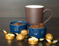 Chocolate desert Royalty Free Stock Photography