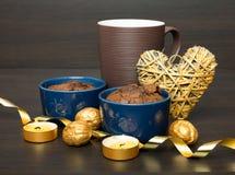 Chocolate desert Stock Photos