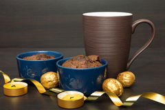Chocolate desert Royalty Free Stock Images