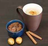 Chocolate desert Stock Photography