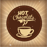 Chocolate design Royalty Free Stock Images