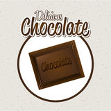 Chocolate design Stock Photography