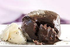 Chocolate Dessert Royalty Free Stock Photo