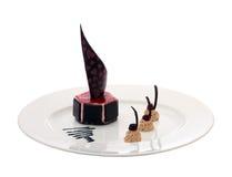 Chocolate dessert Stock Photography