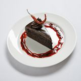 Chocolate dessert. Royalty Free Stock Images