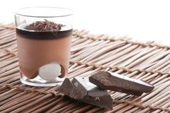 Chocolate dessert Stock Images