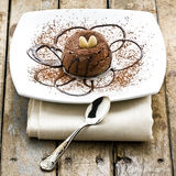 Chocolate Dessert Cake stock image