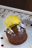 Chocolate dessert Stock Image