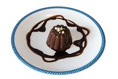 Chocolate dessert  and cocoa cream Stock Image