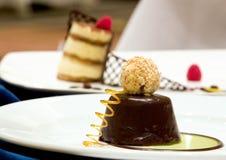 Chocolate Desserts Stock Photos
