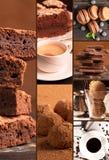 Chocolate desserts Royalty Free Stock Photo