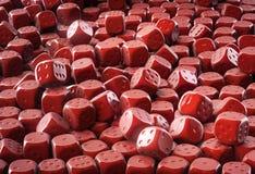 Chocolate dice Royalty Free Stock Image