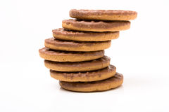 Chocolate Digestive Royalty Free Stock Image